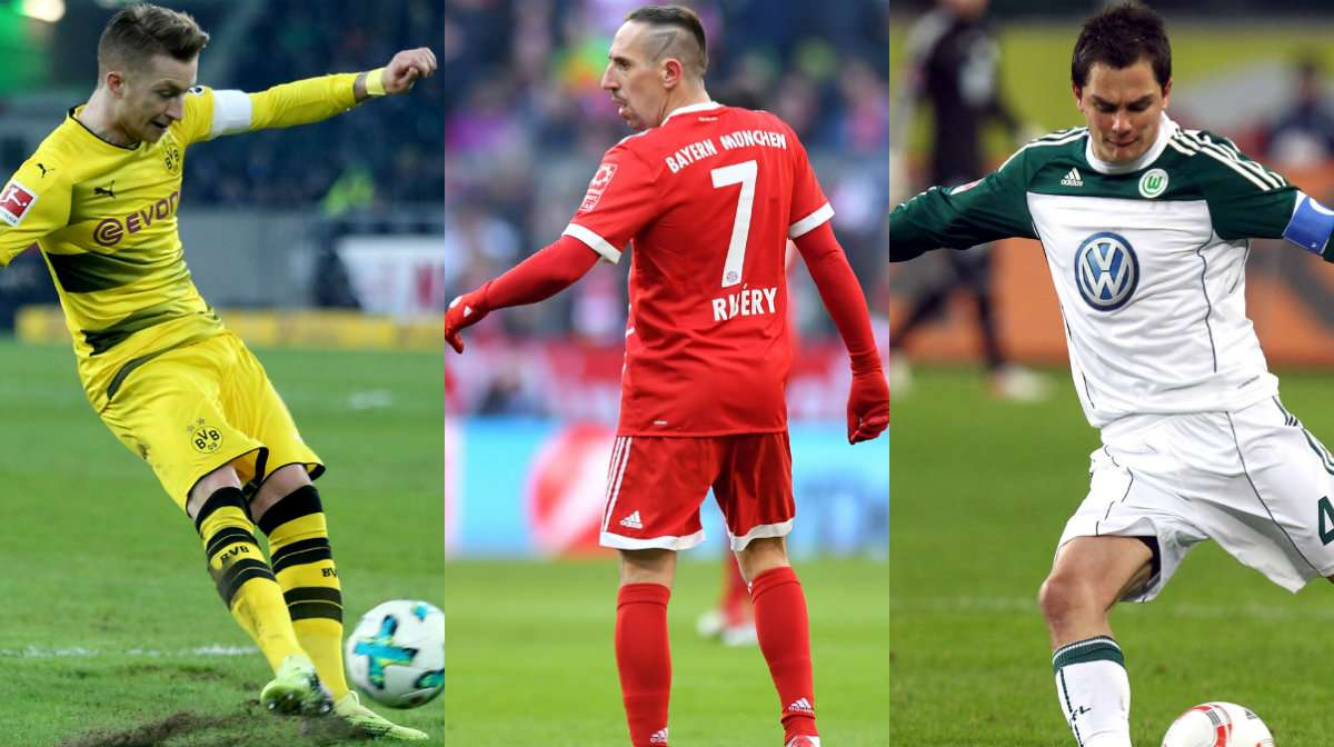 Die Akteure Mit Den Meisten Bundesliga Assists Der Letzten Zehn Jahre Goal Com