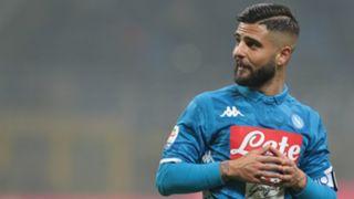 Insigne Inter Napoli Serie A