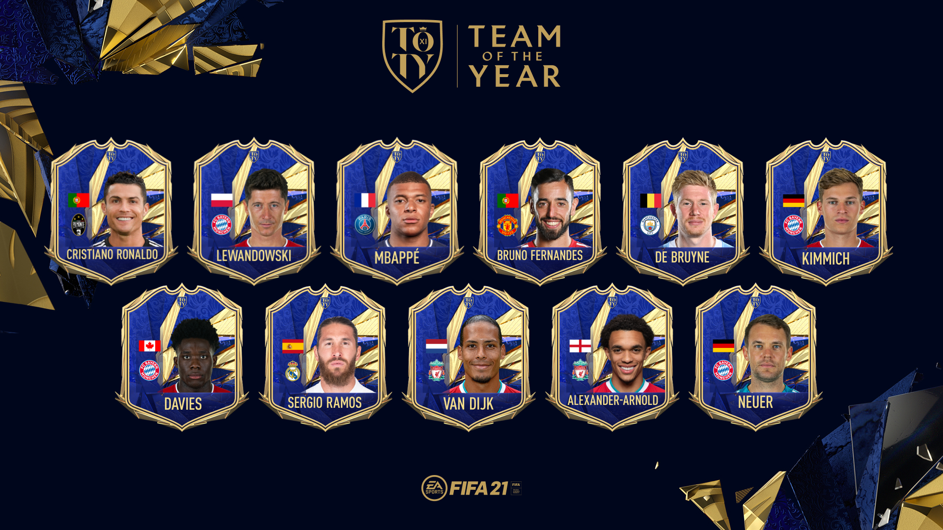 FIFA 21 Team of the Year
