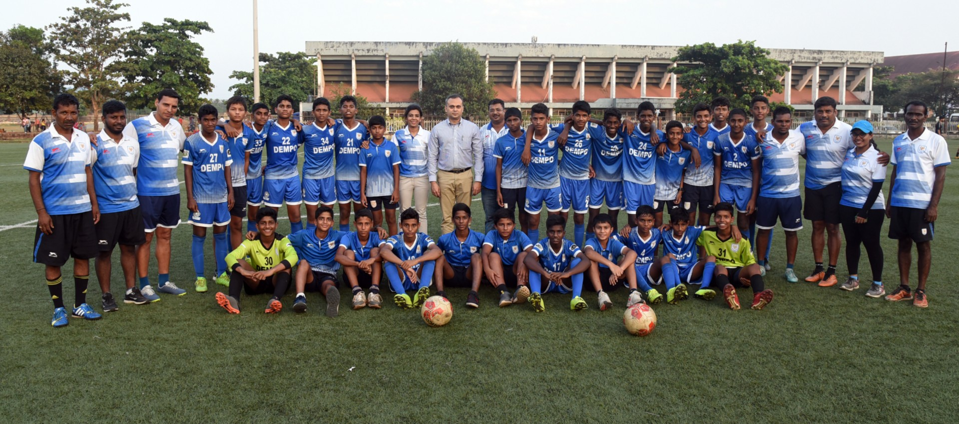 WIDE EMBED ONLY Dempo GFA U-14 Champions 2019-20