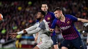 Wijnaldum Lenglet Barcelona Liverpool Champions League 01052019