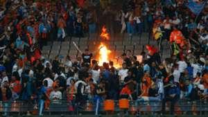 Marseille fans Stade de France