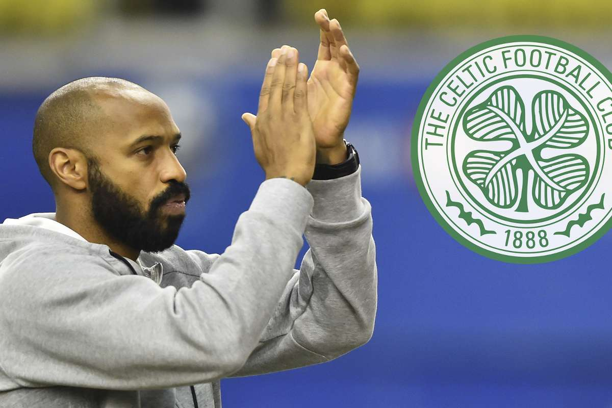 Arsenal legend Henry 'available' as he discusses Celtic job links | Goal.com