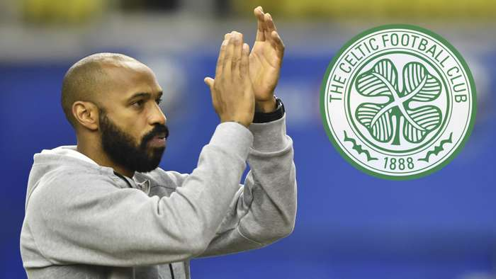 Thierry Henry Celtic 2020-21