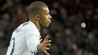 Kylian Mbappe France Iceland Friendly 11102018