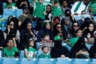 مشجعات السعودية