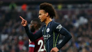 Leroy Sane Manchester City West Ham