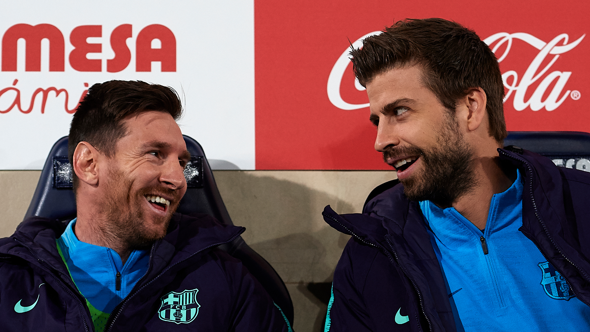 Pique: I will retire at Barcelona and Messi is very happy here