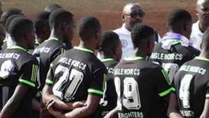 Aigle Noir FC players from Burundi.