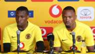 Bernard Parker and George Maluleka, December 2018, Kaizer Chiefs