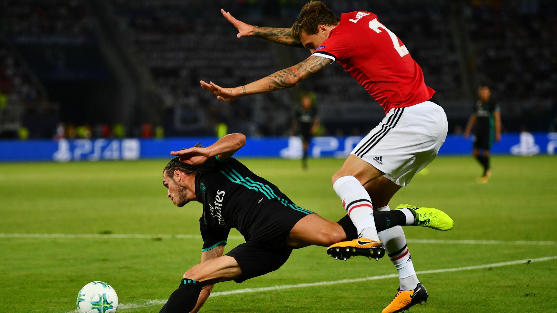 Victor Lindelof Gareth Bale Real Madrid Manchester United UEFA Super Cup