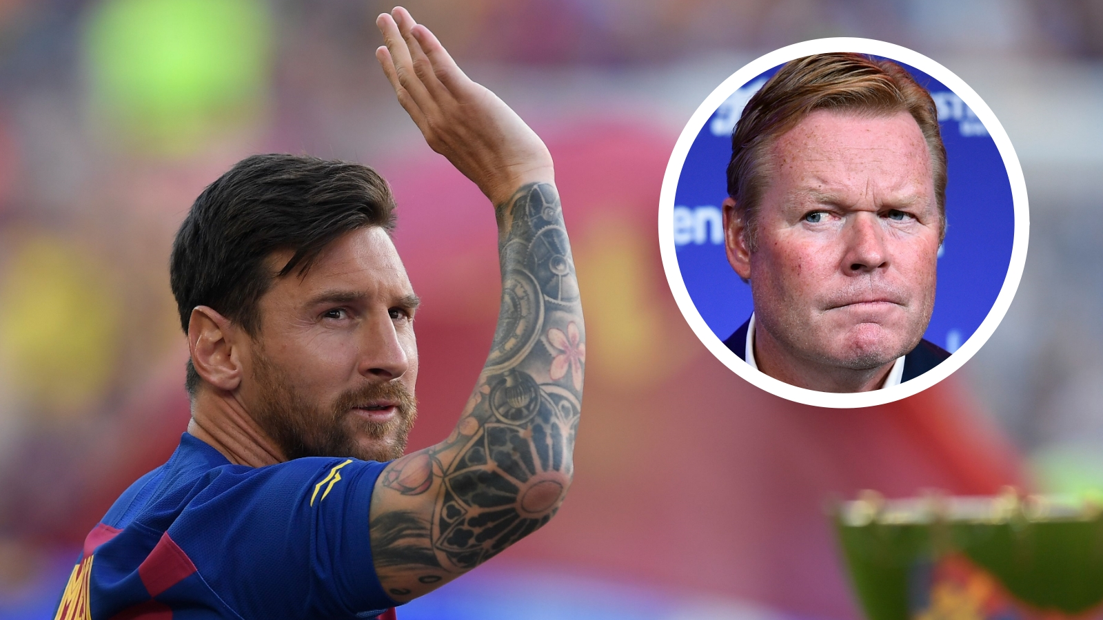 Koeman hoping Messi spends 'many more years' at Barcelona but leaves future call with Argentine