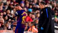 Paco Alcacer lesionado Barcelona Deportivo LaLiga 17122017