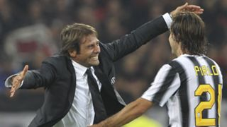 Antonio Conte Andrea Pirlo Juventus 2011-12
