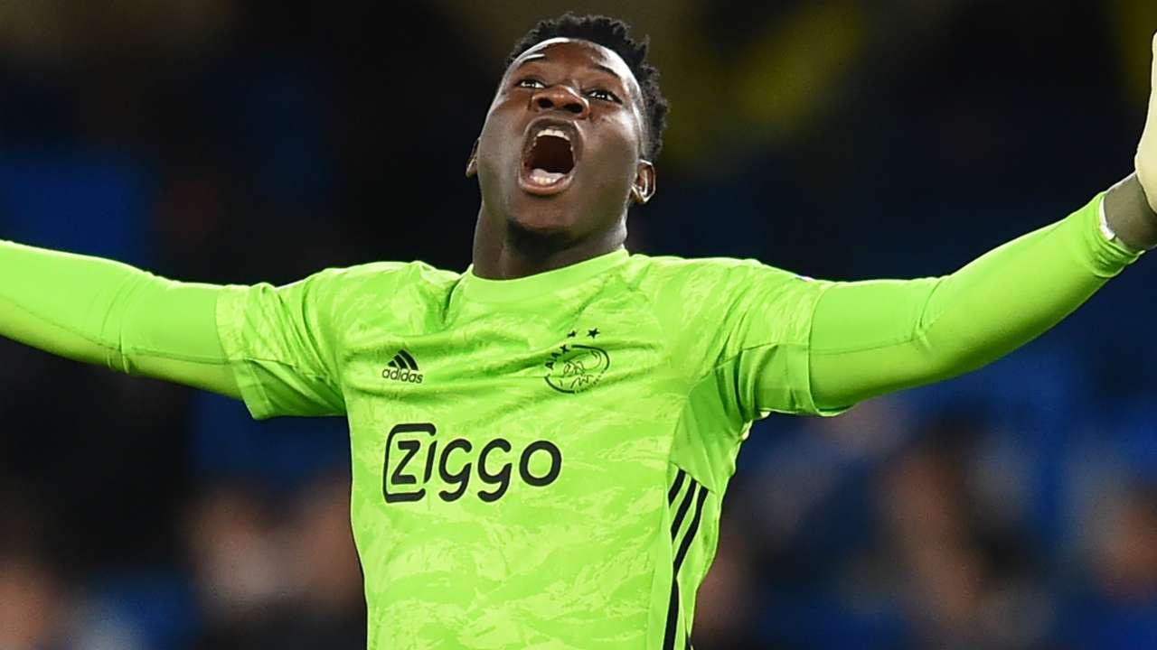 Andre Onana Ajax 2019-20