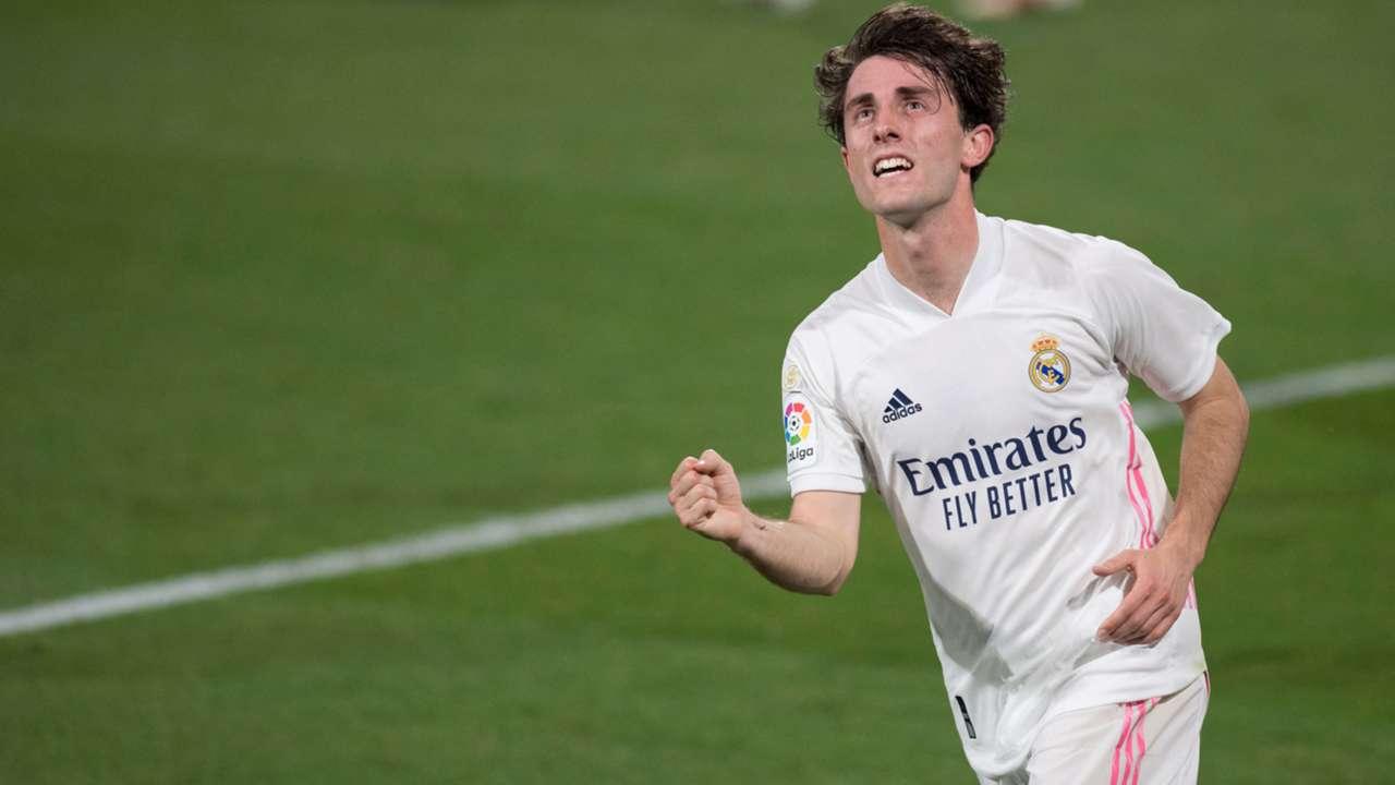 Alvaro Odriozola Real Madrid 2020-21