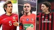 Fabio Coentrao Hatem Ben Arfa Riccardo Montolivo