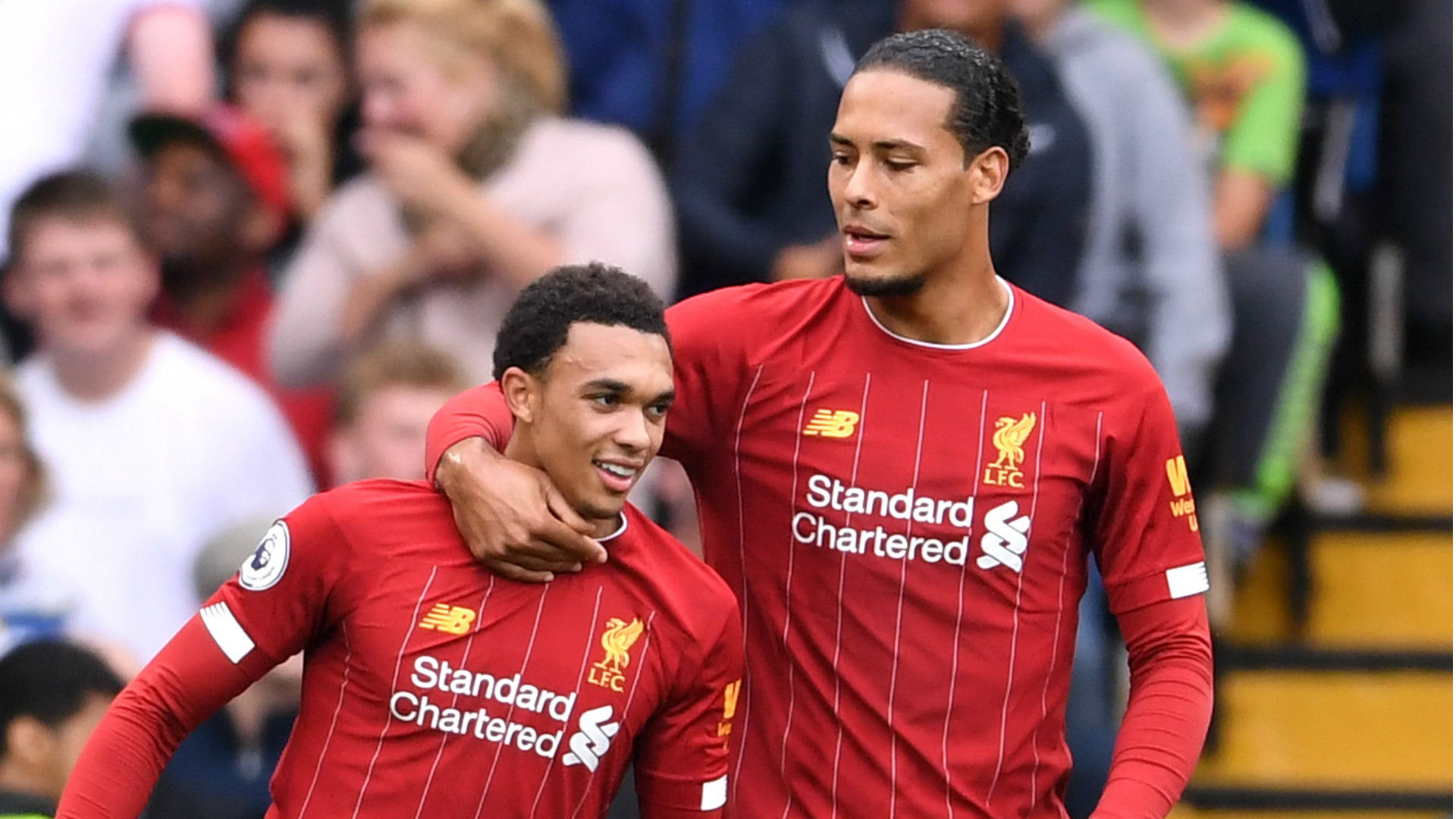 Van Dijk should have won the Ballon d'Or & Alexander-Arnold can ...