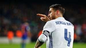 Sergio Ramos Real Madrid Napoli Champions League