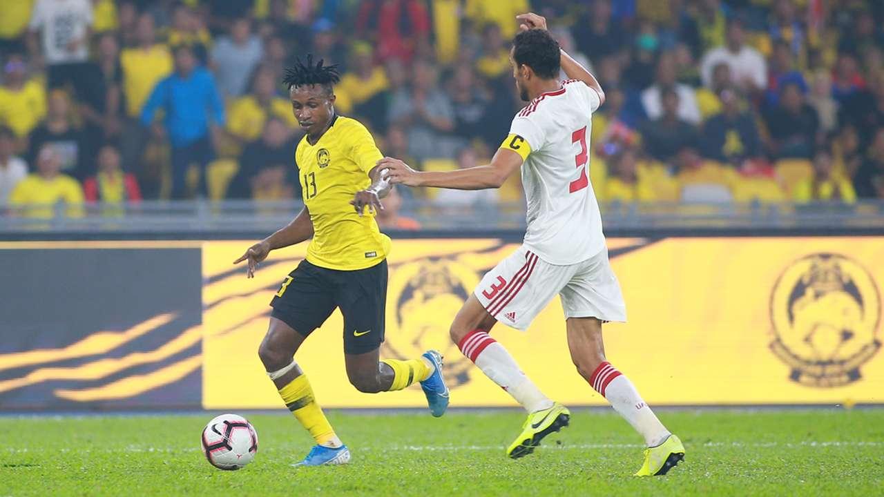 Mohamadou Sumareh, Malaysia v UAE, 2022 World Cup Qualifier, 10 Sep 2019