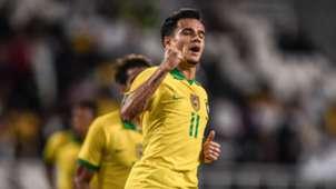 Coutinho Brasil Coreia do Sul Amistoso 19 11 2019