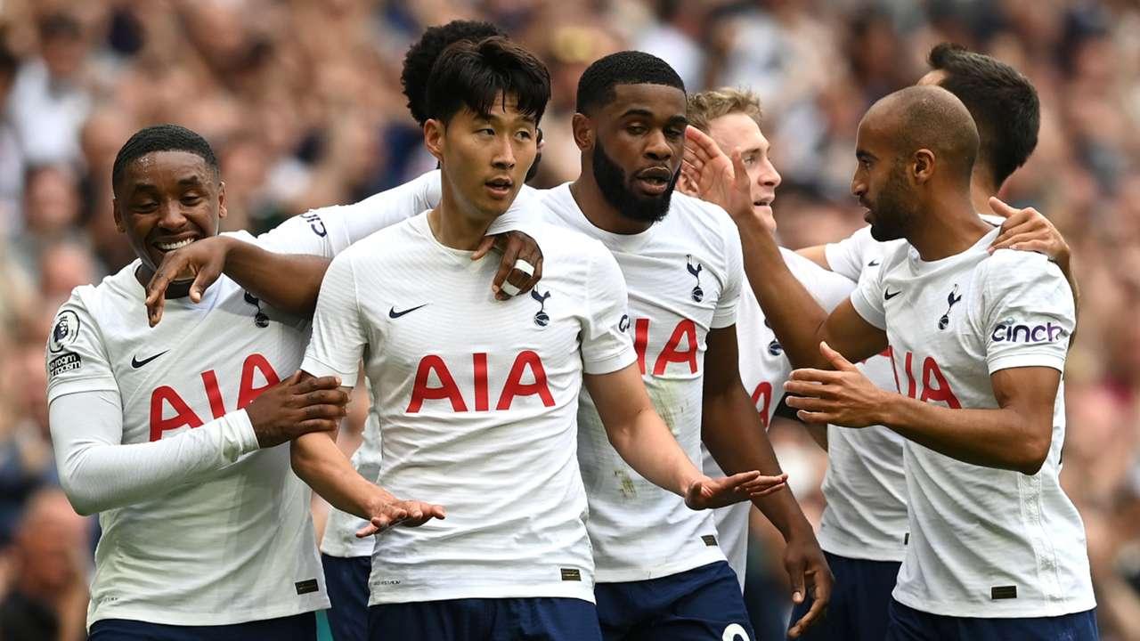 Son Heung-min Tottenham vs Man City Premier League 2021-22