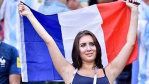 美女サポワールドカップ_フランスvsアルゼンチン_フランス1
