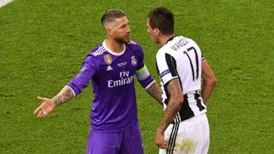 Sergio Ramos Real Madrid Juventus