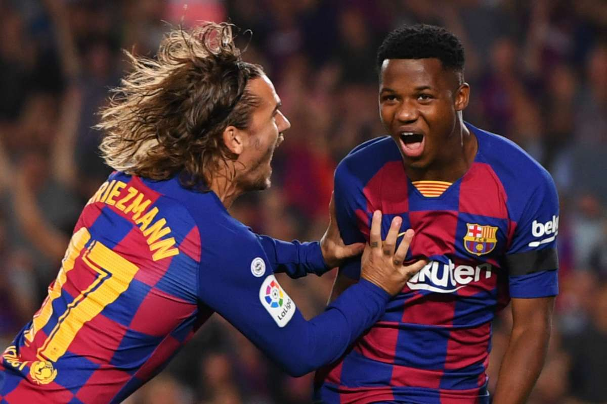 Ansu Fati Makes Better Start To Barca Career Than Messi With First Camp Nou Goal Goal Com