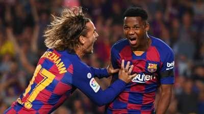 Ansu Fati Barcelona 2019-20