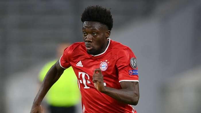 Alphonso Davies Bayern Munich 2020