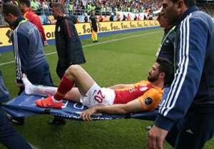 Emre Akbaba Galatasaray sakatlik