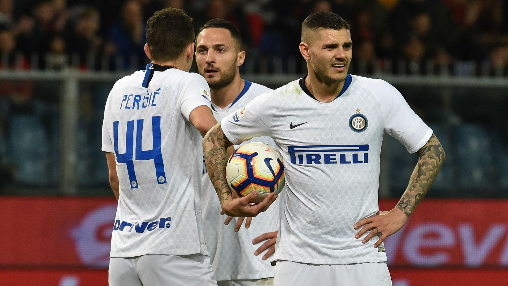 Icardi Perisic Genoa Inter