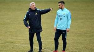 Bailey Wright Bert van Marwijk Socceroos