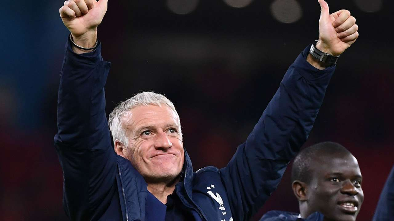 Didier Deschamps Albania France Euro 2020 Qualifiers