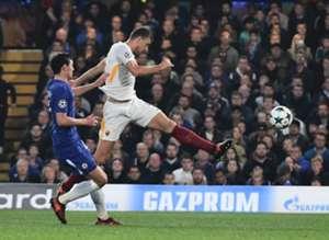 Edin Dzeko Chelsea Roma