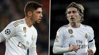 Federico Valverde Luka Modric Real Madrid GFX