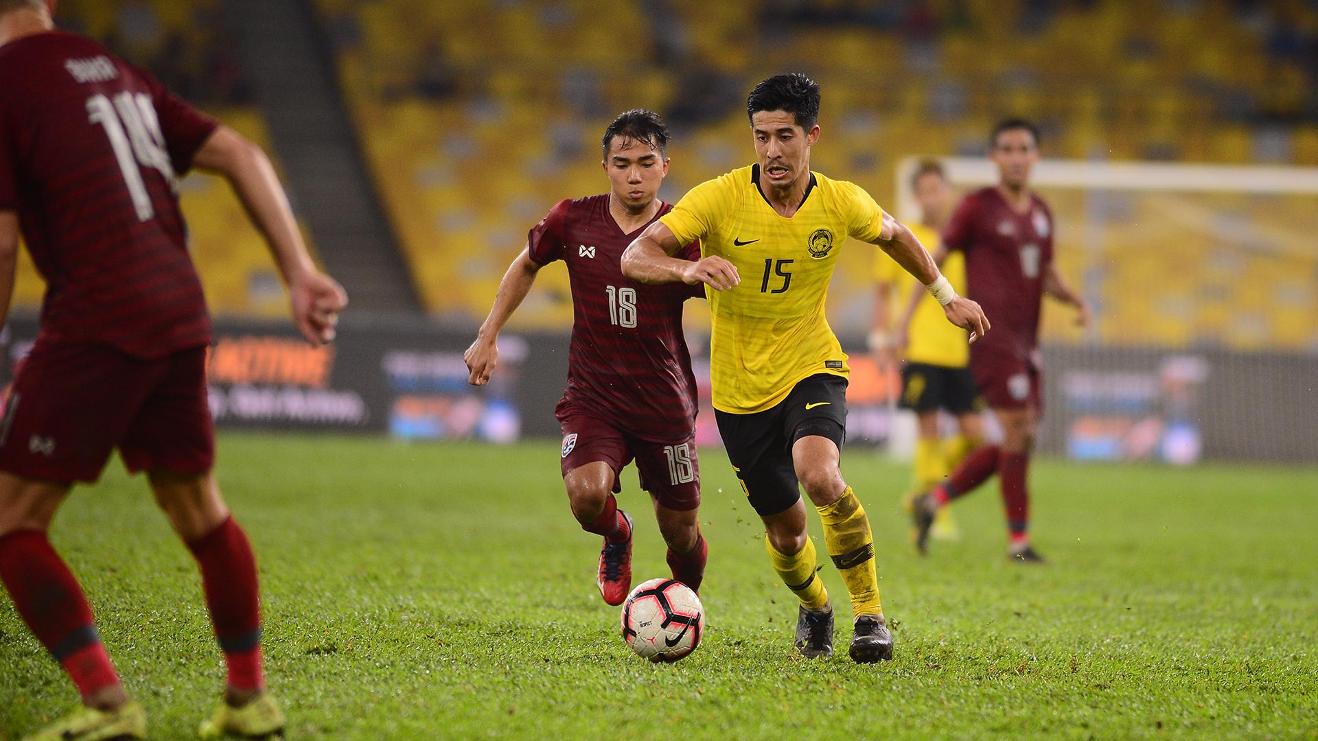 Brendan Gan, Malaysia v Thailand, 2022 World Cup qualifier, 14 Nov 2019