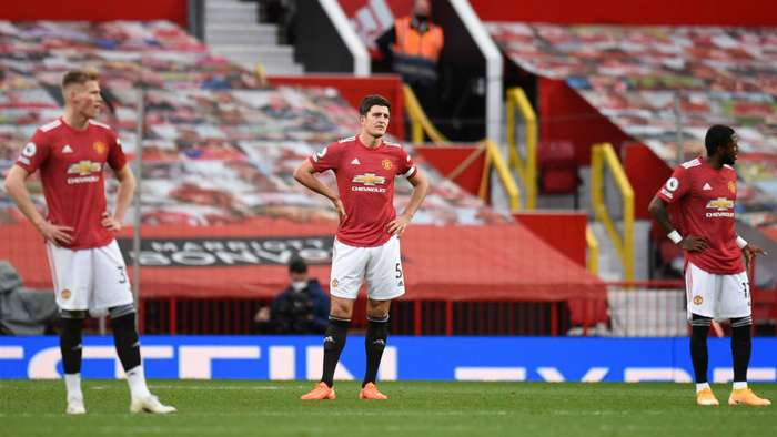 Scott McTominay Harry Maguire Fred Manchester United Tottenham 2020-21