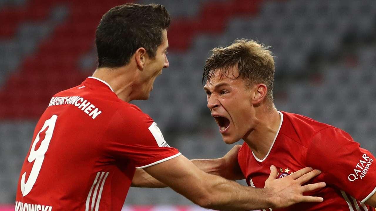 Robert Lewandowski, Joshua Kimmich, Bayern Munich 2020-21