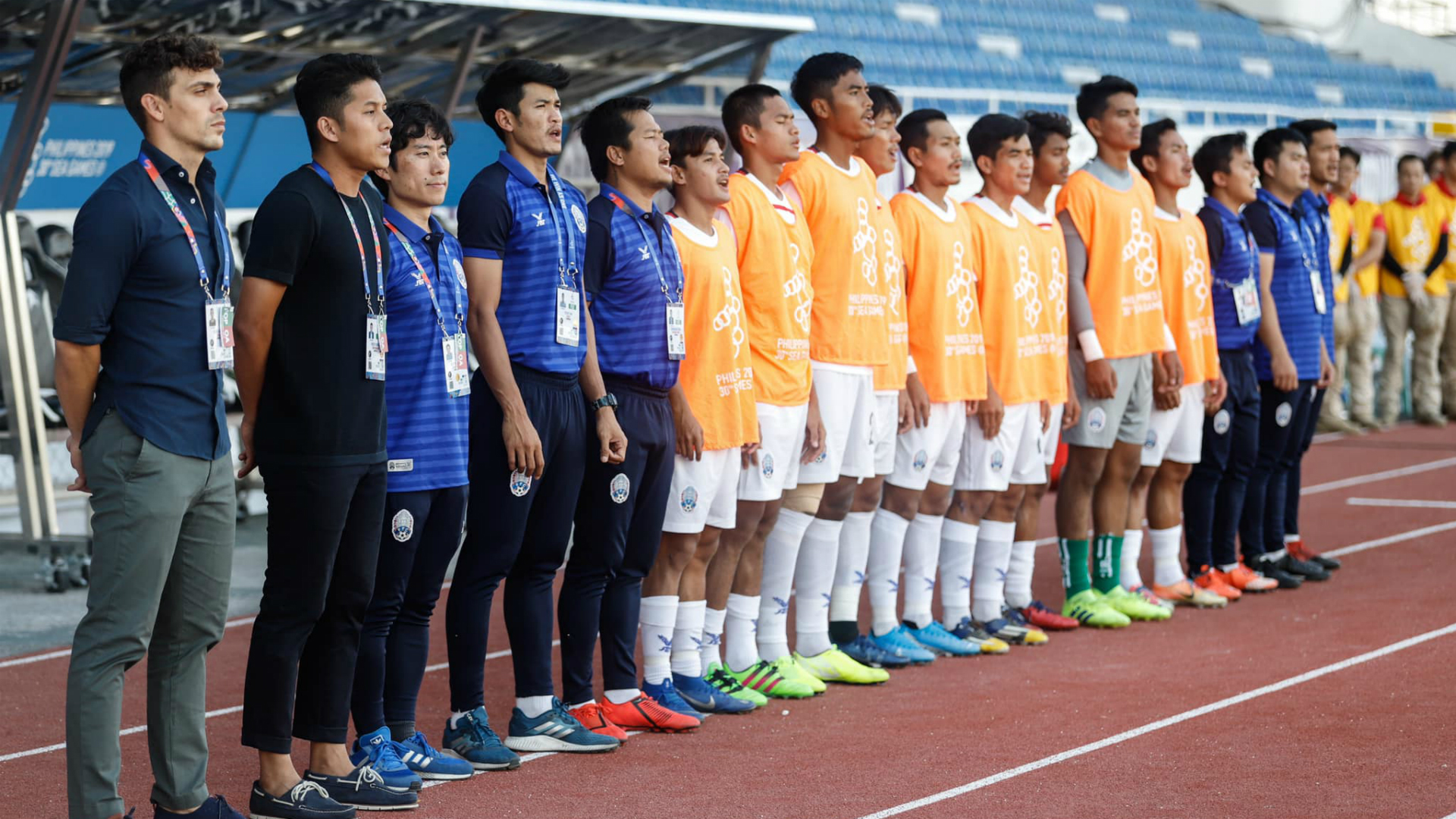 Felix Dalmas, Cambodia v Malaysia, SEA Games 2019, 4 Dec 2019
