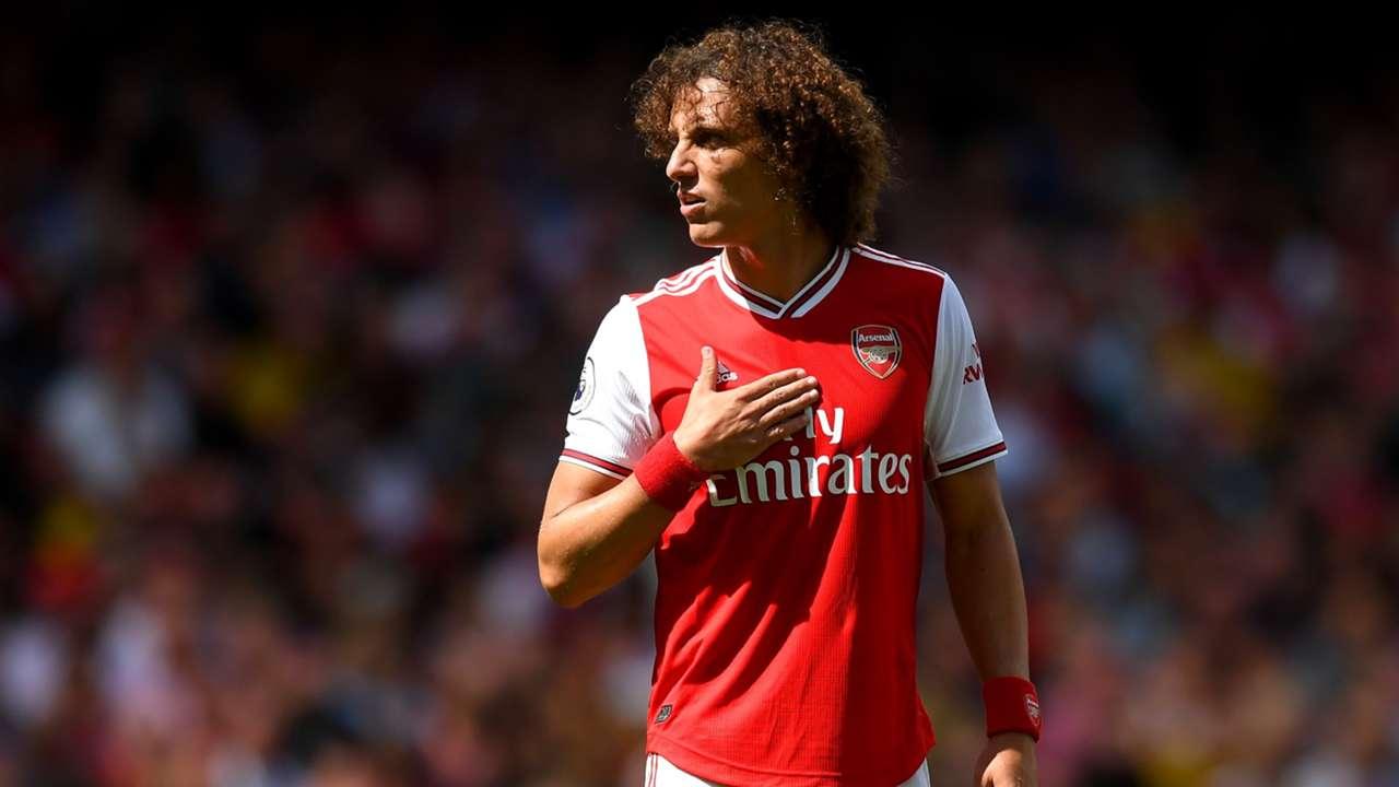 David Luiz Arsenal 2019/20