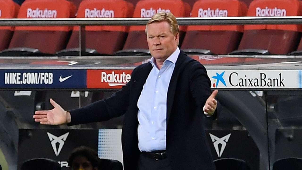Ronald Koeman Barcelona 2020-21