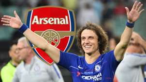 David Luiz, Arsenal logo