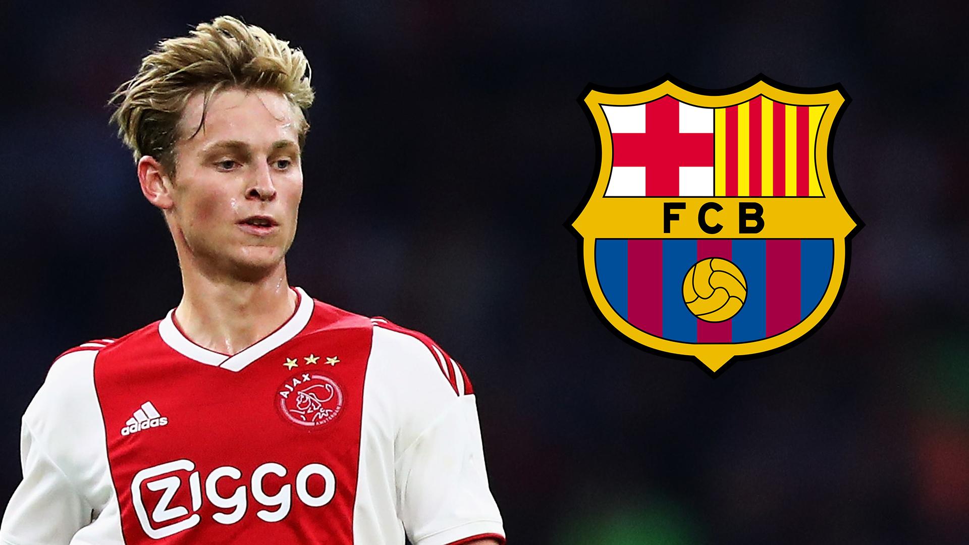 Frenkie de Jong Ajax Barcelona