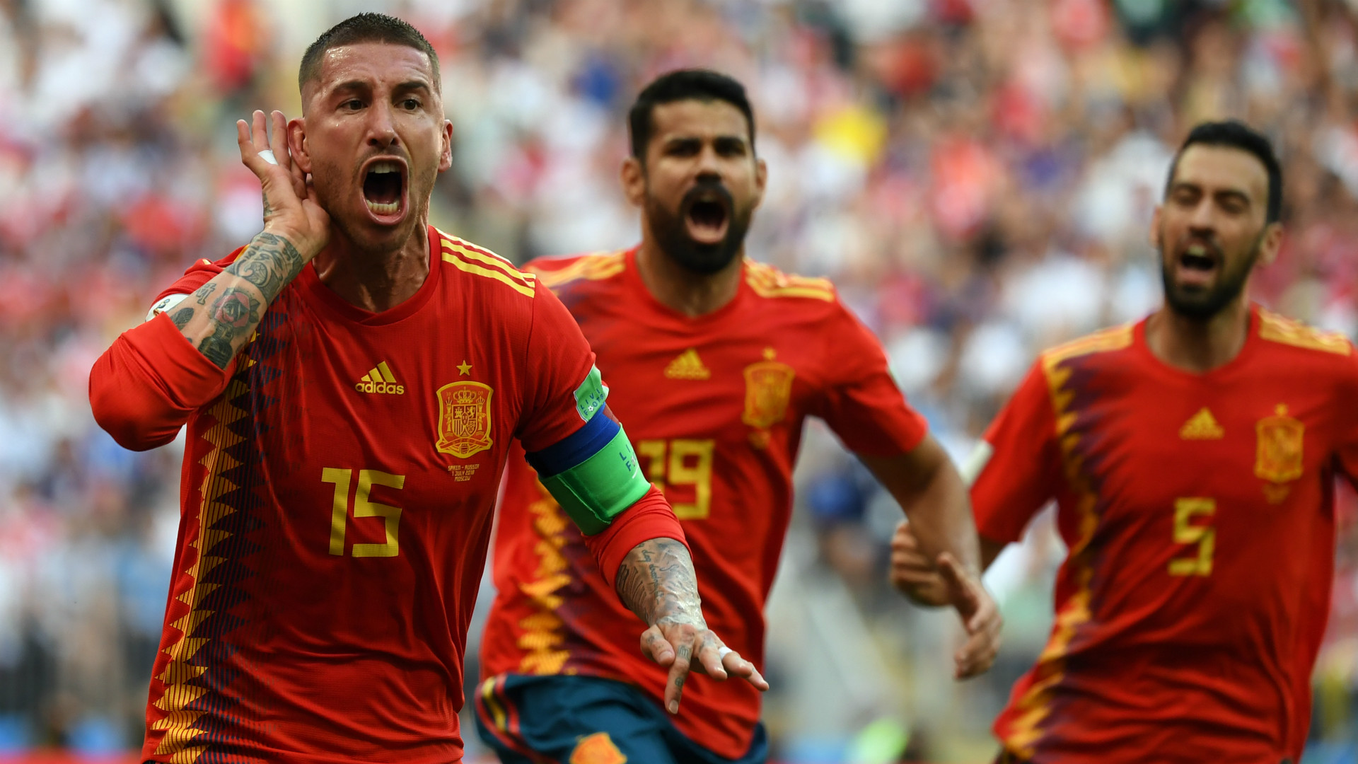England Vs Spanien