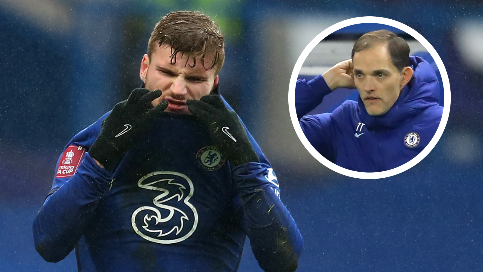 'No hugs or warm words can help Werner' - Tuchel says Chelsea star needs lucky break amid goal drought
