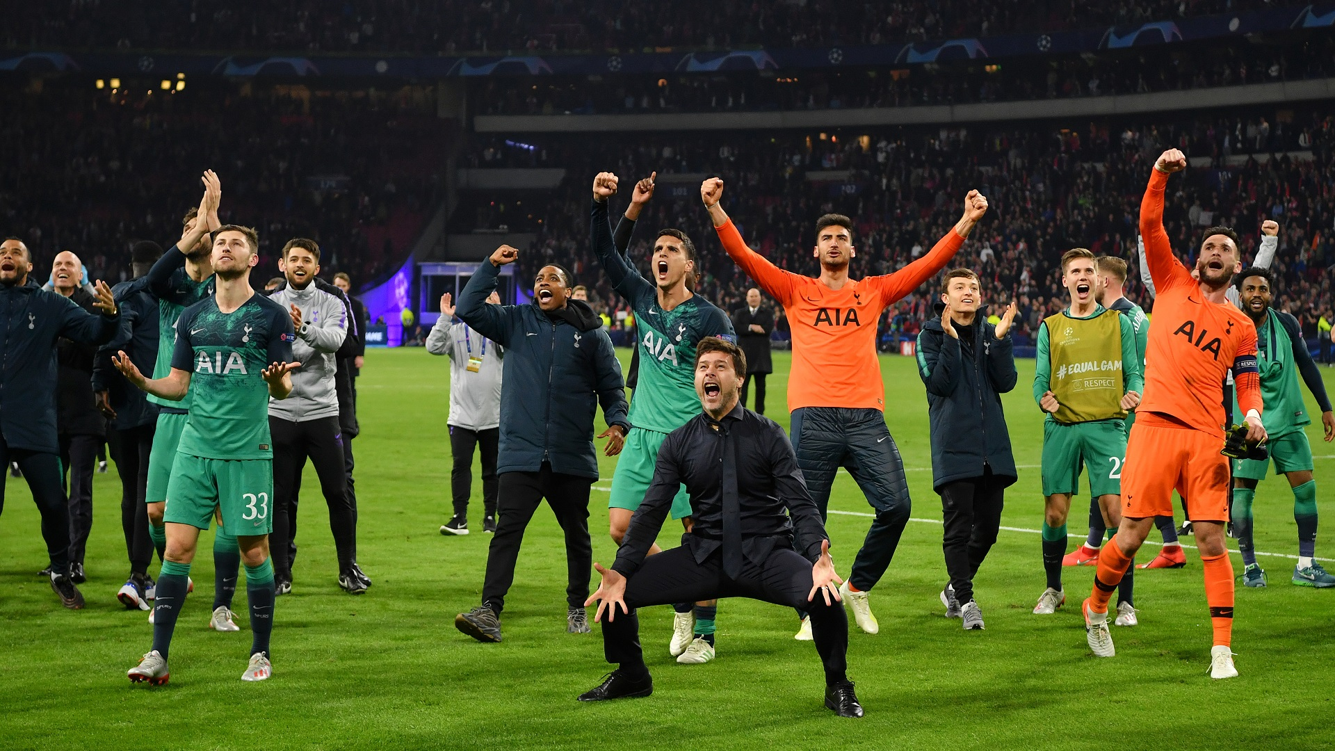 'Offensively, Ajax were 10 times better than Spurs' - De Jong welcomes away goal rule abolishment