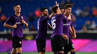 Fiorentina celebrating - ICC 2019