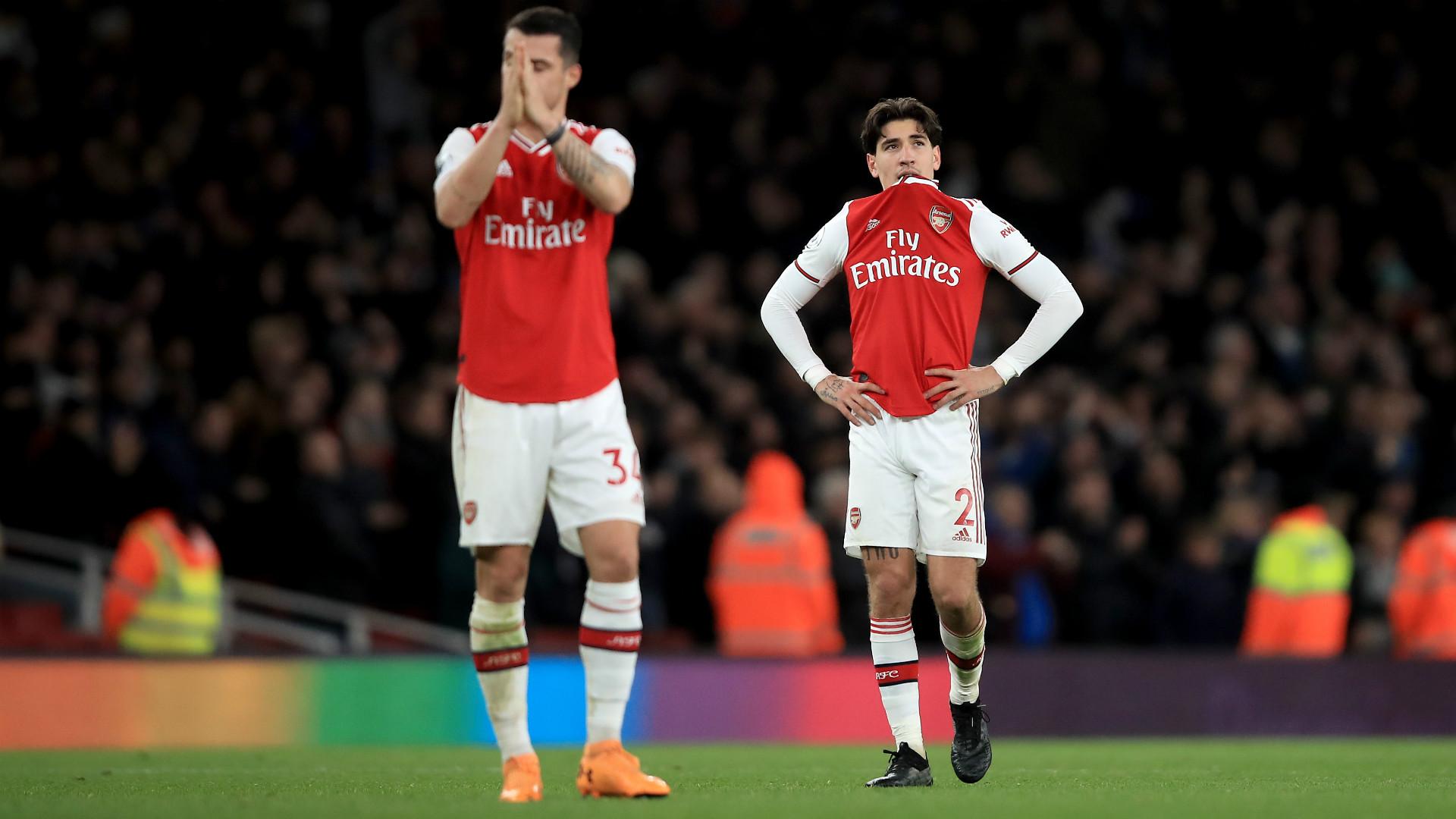 Arsenal Brighton Xhaka Bellerin